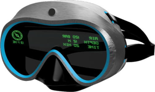 Sightecho Limited brings a brand new diving  experience to scuba divers by putting a heads-up display inside the mask, so that divers can see critical information directly in their line of sight.  The functions of various devices can be seamlessly integrated, and divers can focus on enjoying the view 